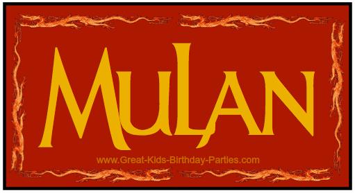 Mulan Font