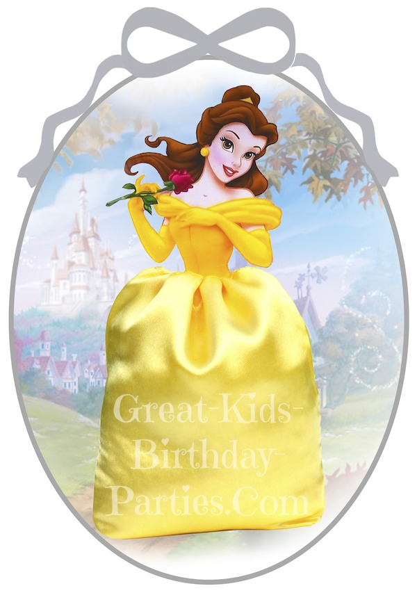 Disney Princess Party Favors - Beauty and the Beast Favor Bags