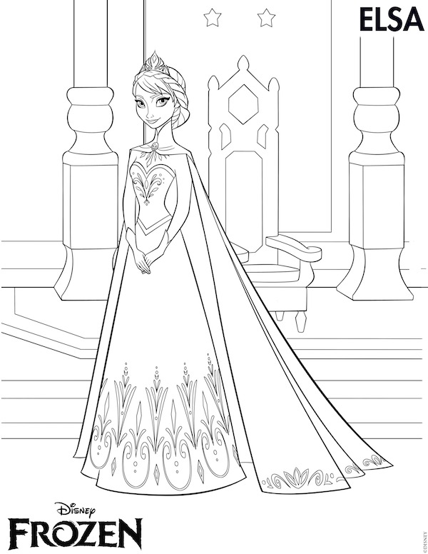 Frozen Printables -Free Frozen printables-coloring pages, Elsa crown, Anna crown, invitations, stickers, thank-you tags, printables games and crafts.