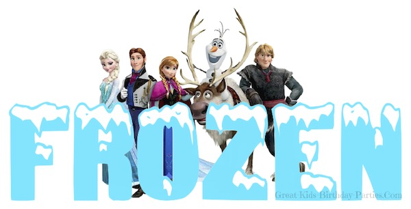 Frozen Font-FREE fonts similar to Frozen Movie font. Learn how to make these easy fonts for your next FROZEN birthday party. Use for party favors, labels, stickers, cake & cupcake toppers and more.