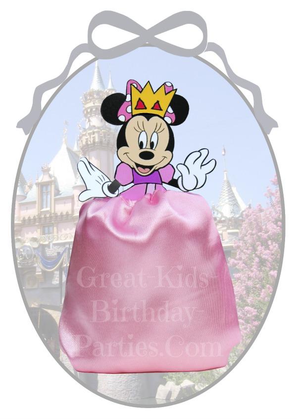 DIY Disney Princess Party Favors - Minnie Mouse Favor Bags