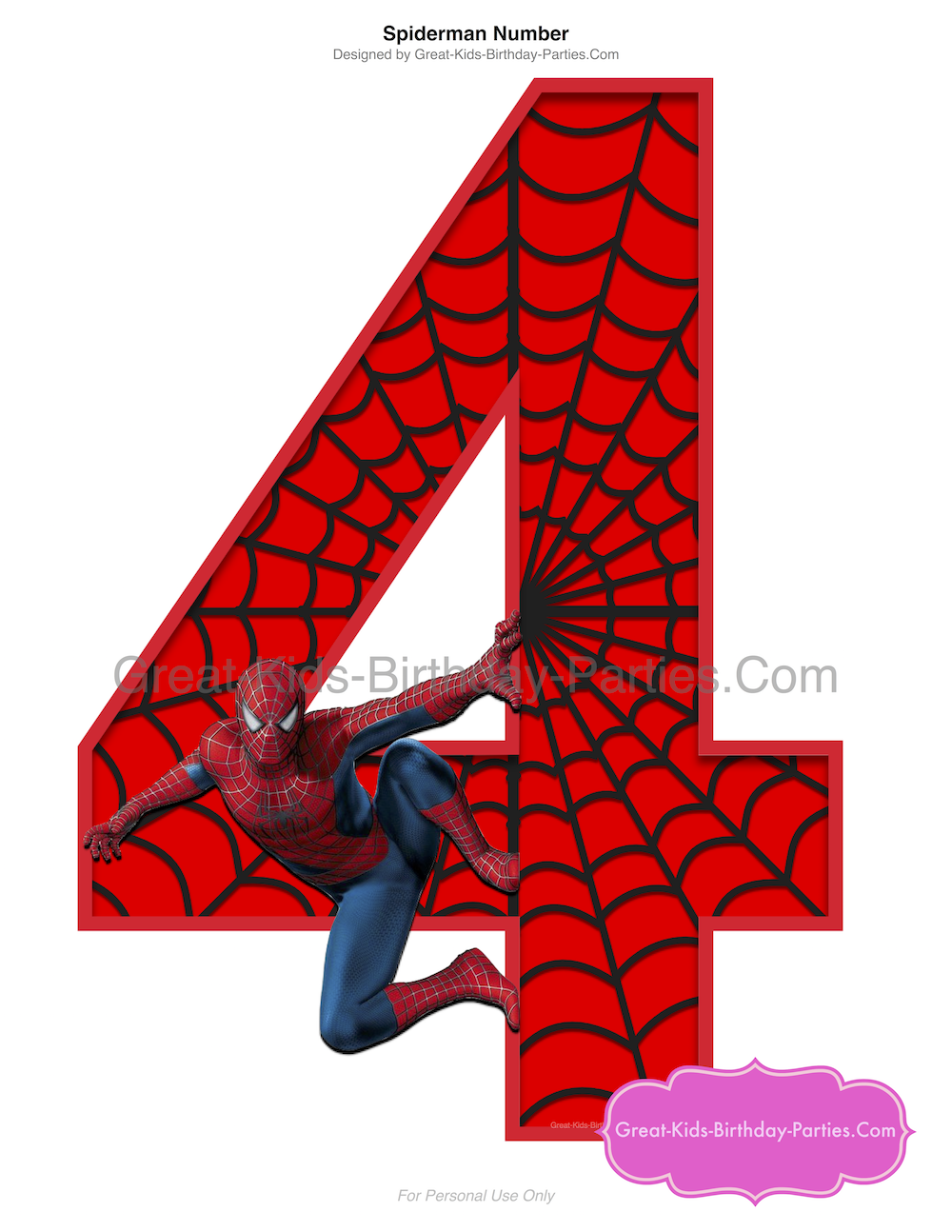 graphic regarding Printable Spiderman Invitations named Superhero Printables