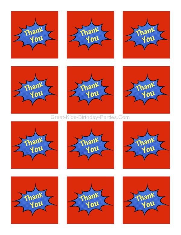 photo relating to Free Printable Superhero Logos named Superhero Printables