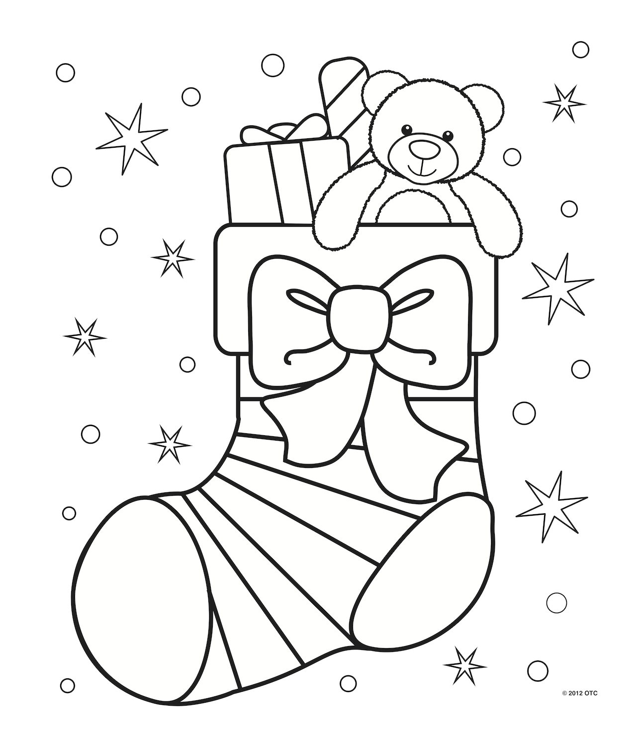 coloring pages christams - photo#29