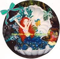 Ariel cake topper