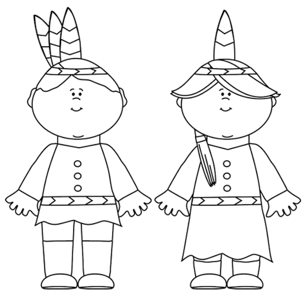Free Thanksgiving Coloring Pages at KidsPartyWorks.Com