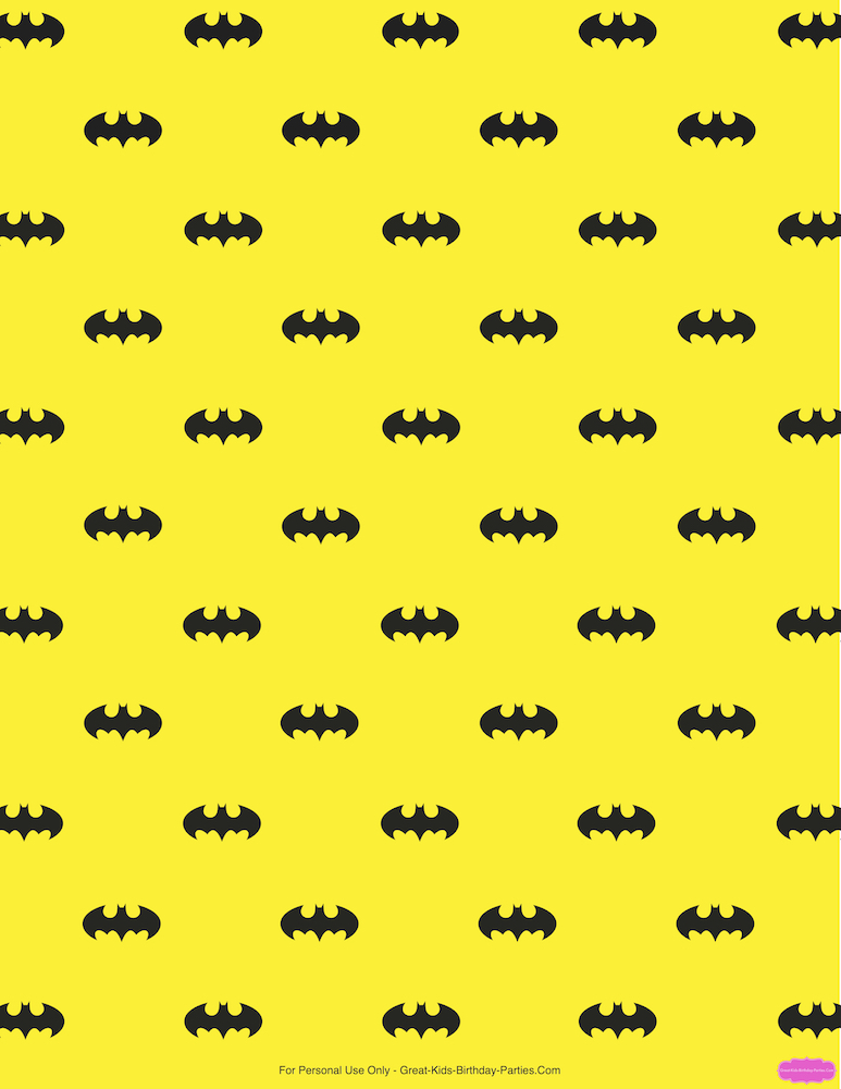 Itu0027s Free To Use For Your Personal Projects, Including Party Printables,  Scrapbook, Gift Wrapping Paper And Lots More! Get Your Free Batman Printable  Here.