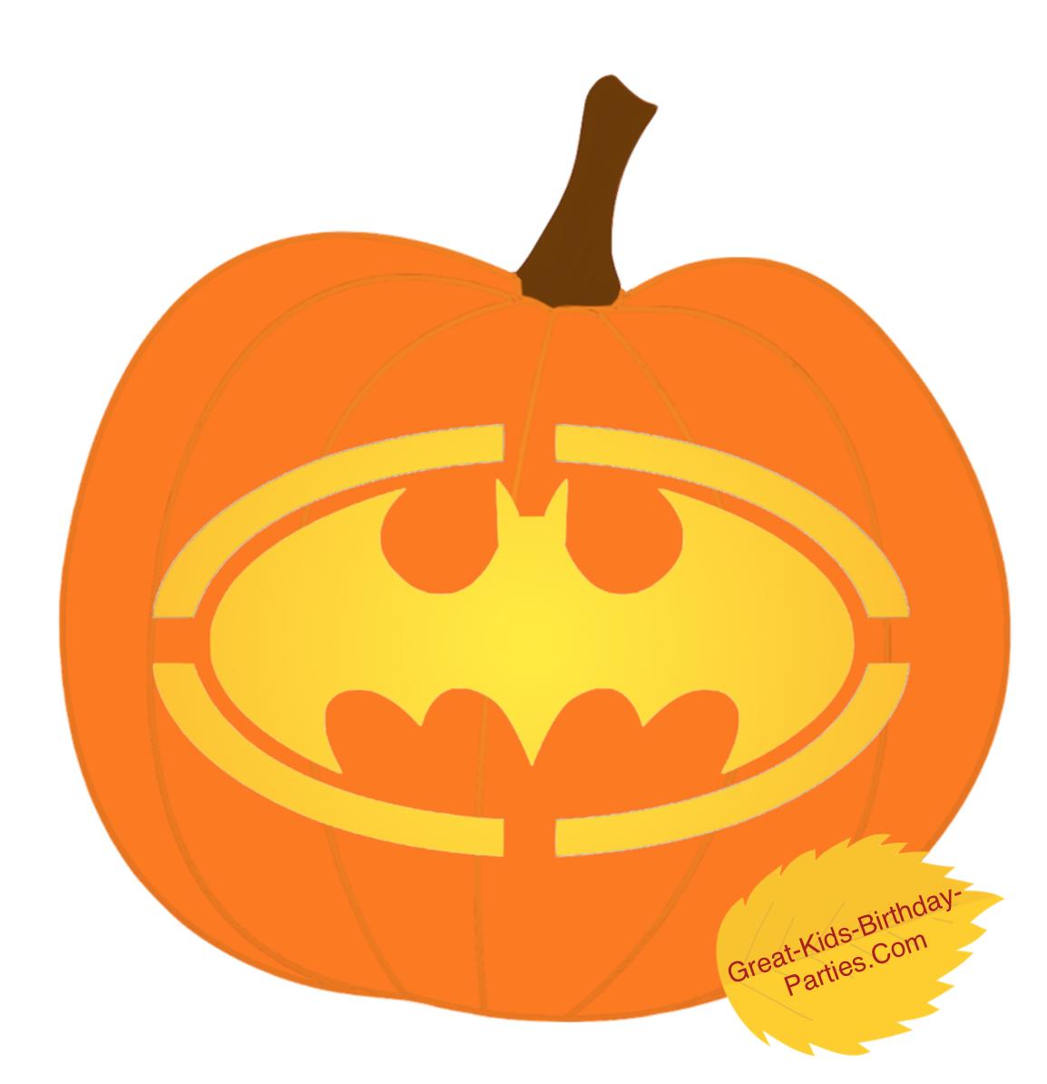 batman pumpkin carving templates free - pumpkin stencils