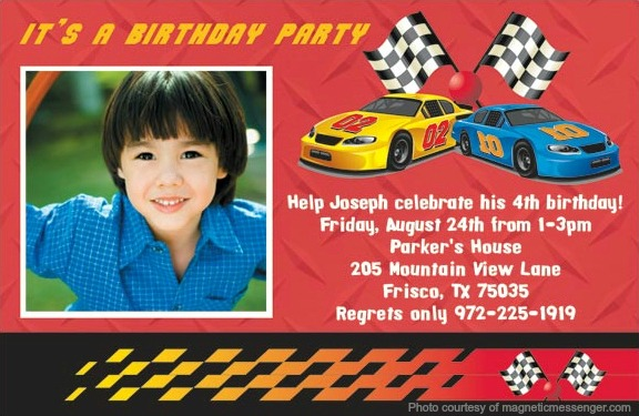 Disney Cars Birthday Invitation Wpart Co