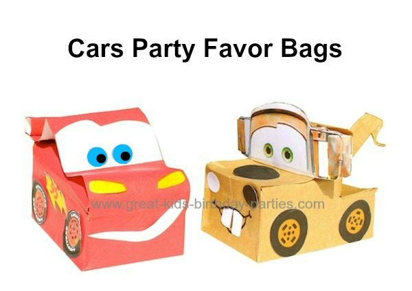 Disney cars birthday party disney cars birthday party favors solutioingenieria Image collections