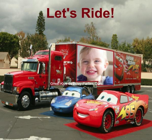Disney Cars Photo Booth