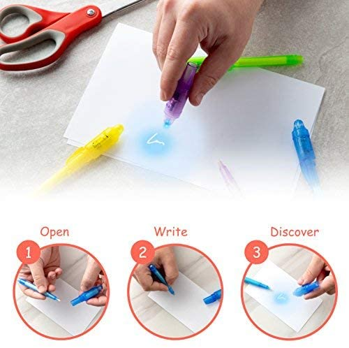 invisible disappearing ink pen party favor