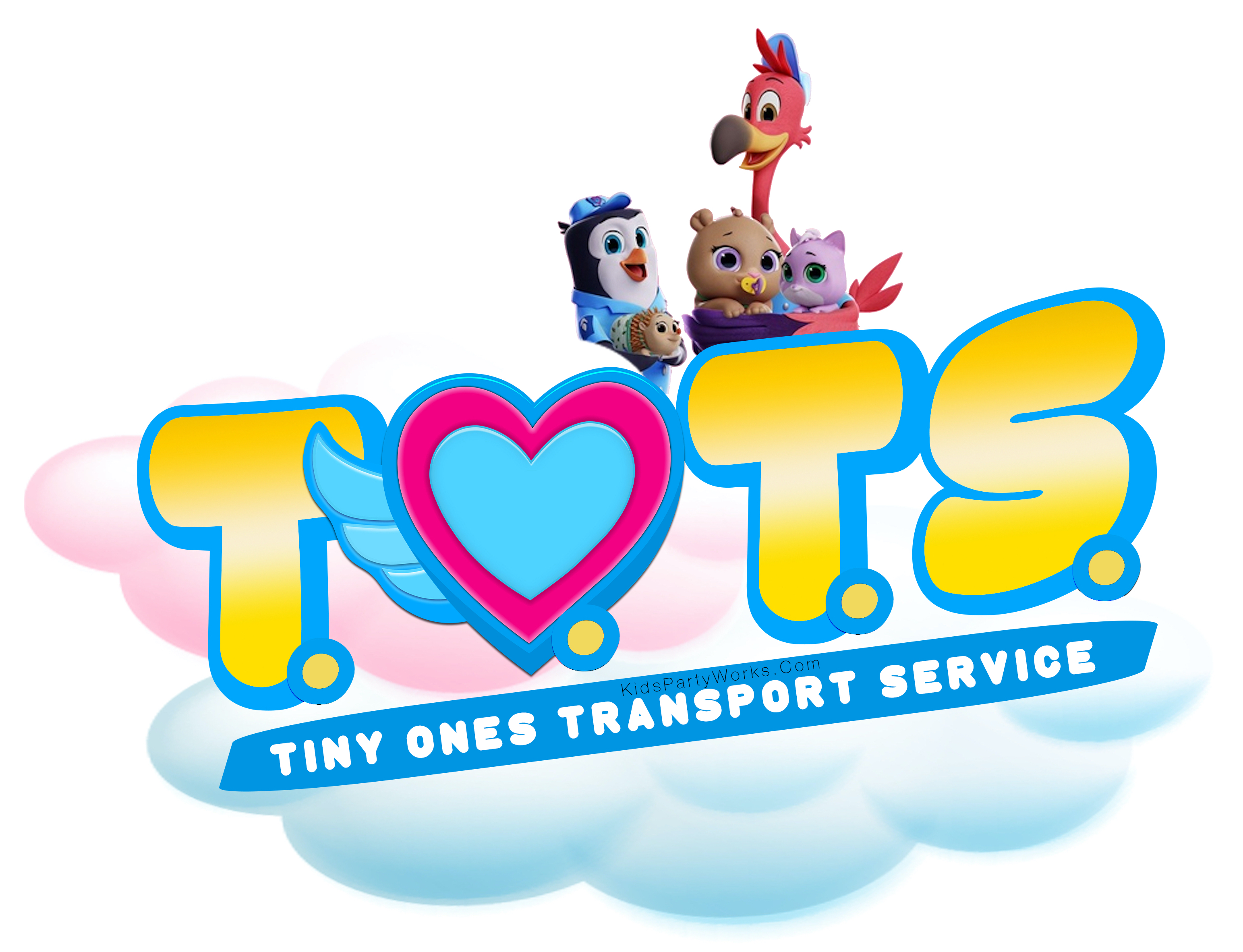 Disney TOTS Font by KidsPartyWorks.Com