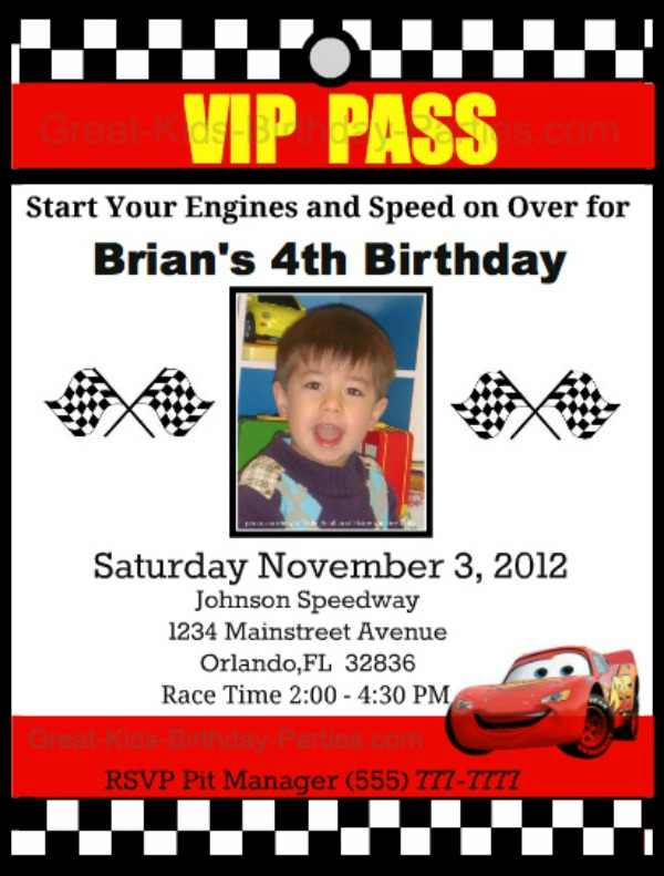 photograph relating to Disney Cars Birthday Invitations Printable Free referred to as Disney Automobiles Birthday Get together