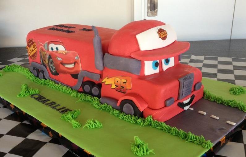 Big Truck Cake Pans