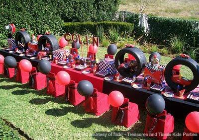 Disney Cars Birthday Party Decorations