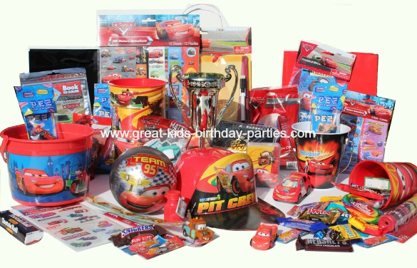 Looking For Disney Cars Party Favors