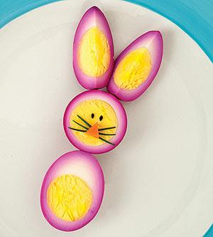 Eater Rabbit Egg - Eater boiled egg, easy to make and so pretty!