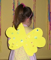 fairy wings construction paper