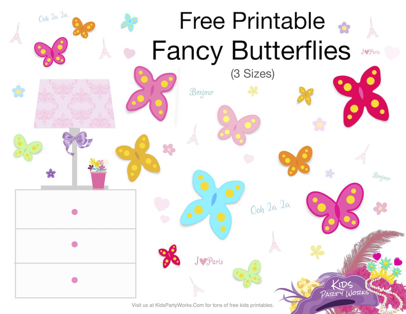 Fancy Nancy Butterflies