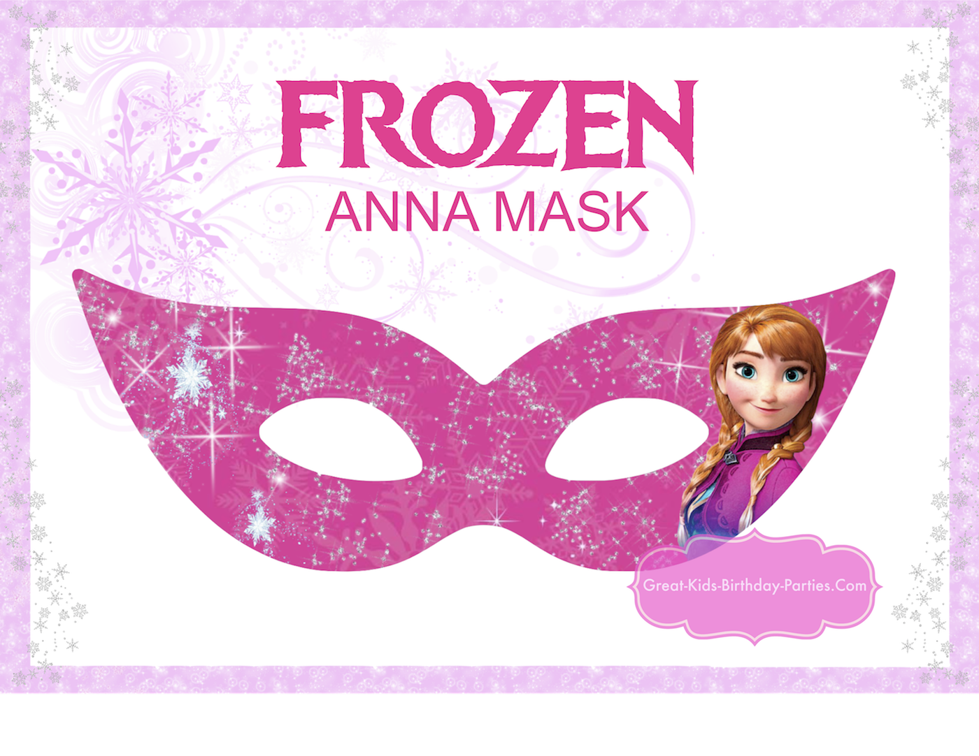 Printable Halloween Masks
