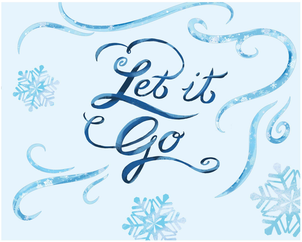 photo relating to Frozen Banner Printable called Frozen Bash