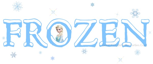Frozen Font-FREE fonts similar to Frozen Movie font. Learn how to make these easy fonts for your next FROZEN birthday party.