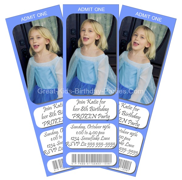 graphic about Frozen Invitations Printable named Frozen Bash