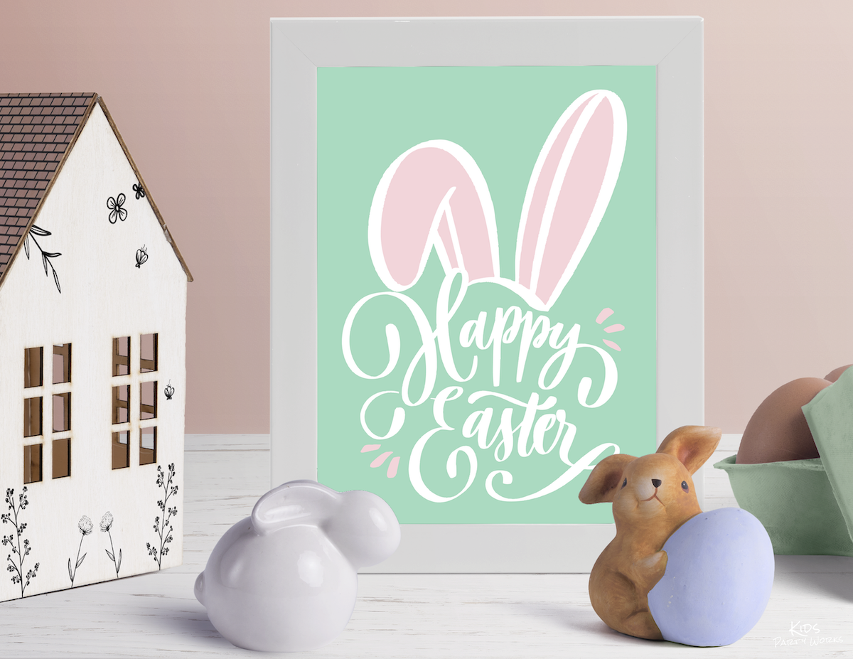 Free Easter Printables by Kids Party Works