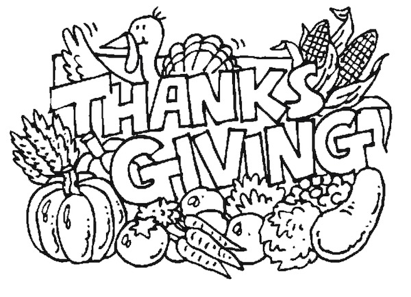 Look At This Adorable Happy Thanksgiving Placemat By Alex Oodles To Color While They Wait For Their Feast Click On Image Free Coloring