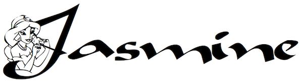 Jasmine font