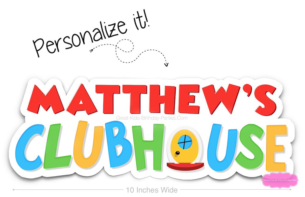 mickey mouse clubhouse font