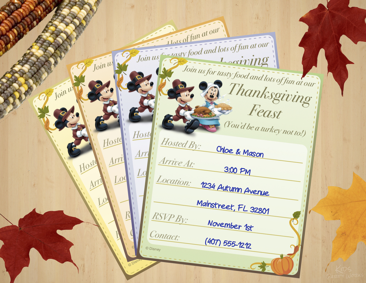 image relating to Free Printable Pretend Disney Tickets named Thanksgiving Coloring Web pages