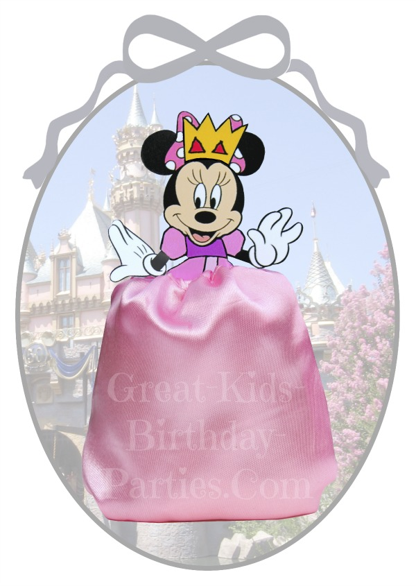 DIY Disney Princess Party Favors - Minnie Mouse Favor Bags