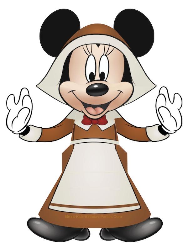 Minnie Thanksgiving Treat Box at KidsPartyWorks.Com