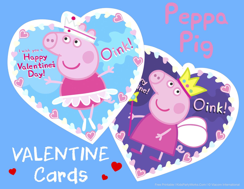 Peppa Pig Valentines