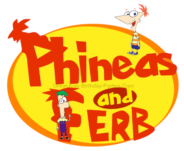 Disney's Phineas and Ferb Font - Download this free font for your Phineas and Ferb birthday party.  Make invitations, stickers, party labels, name tags, thank-you labels, water bottle labels more!