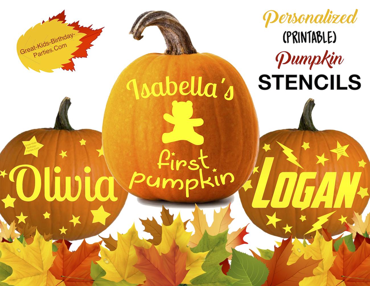 picture regarding Printable Pumpkin Patterns referred to as Pumpkin Stencils