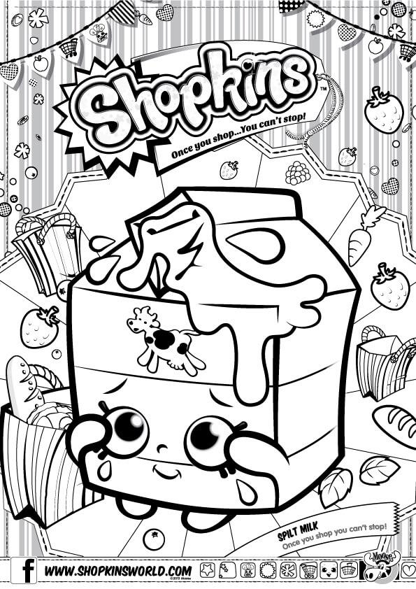 image regarding Shopkins List Season 2 Printable named Shopkins Coloring Web pages