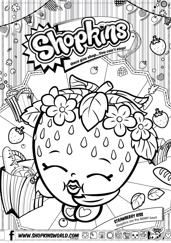 Shopkins Coloring Pages Season 1