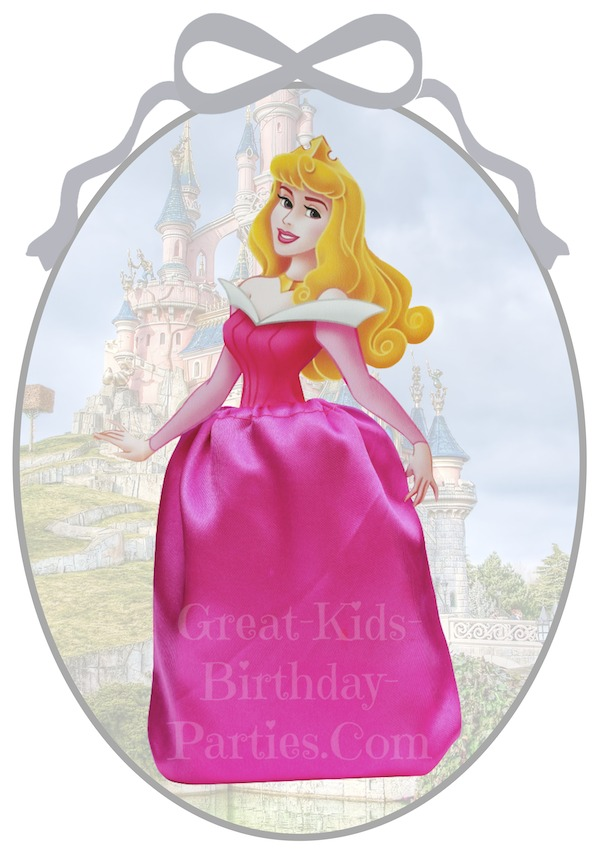 Disney Princess Party Favors - Sleeping Beauty Favor Bags