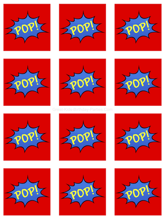 image regarding Superhero Logo Printable titled Superhero Printables