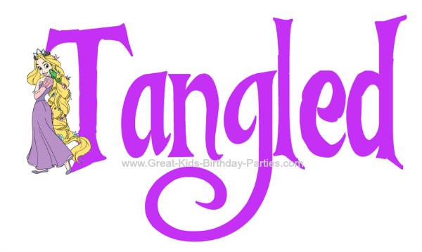 Tangled Font