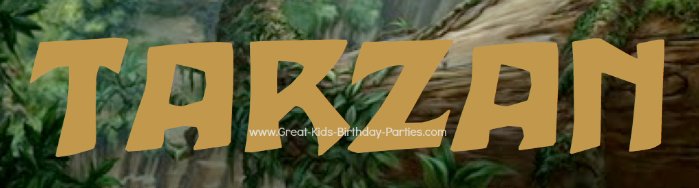 Disney Tarzan Font, free Disney font
