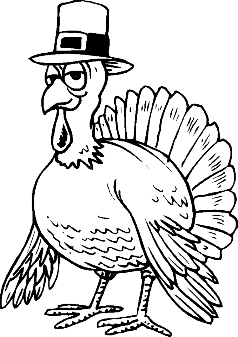 Free Thanksgiving Coloring Pages - Crazy Little Projects | 1075x761