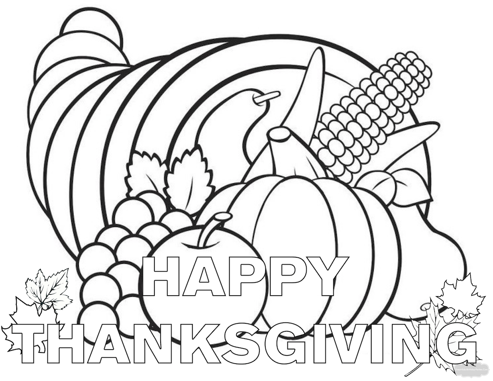 Print These Free Turkey Coloring Pages for the Kids | 773x1000
