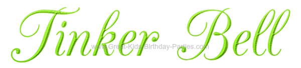 Free Tinker Bell Font