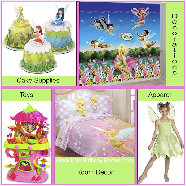 Tinkerbell party ideas tinkerbell party supplies solutioingenieria Choice Image