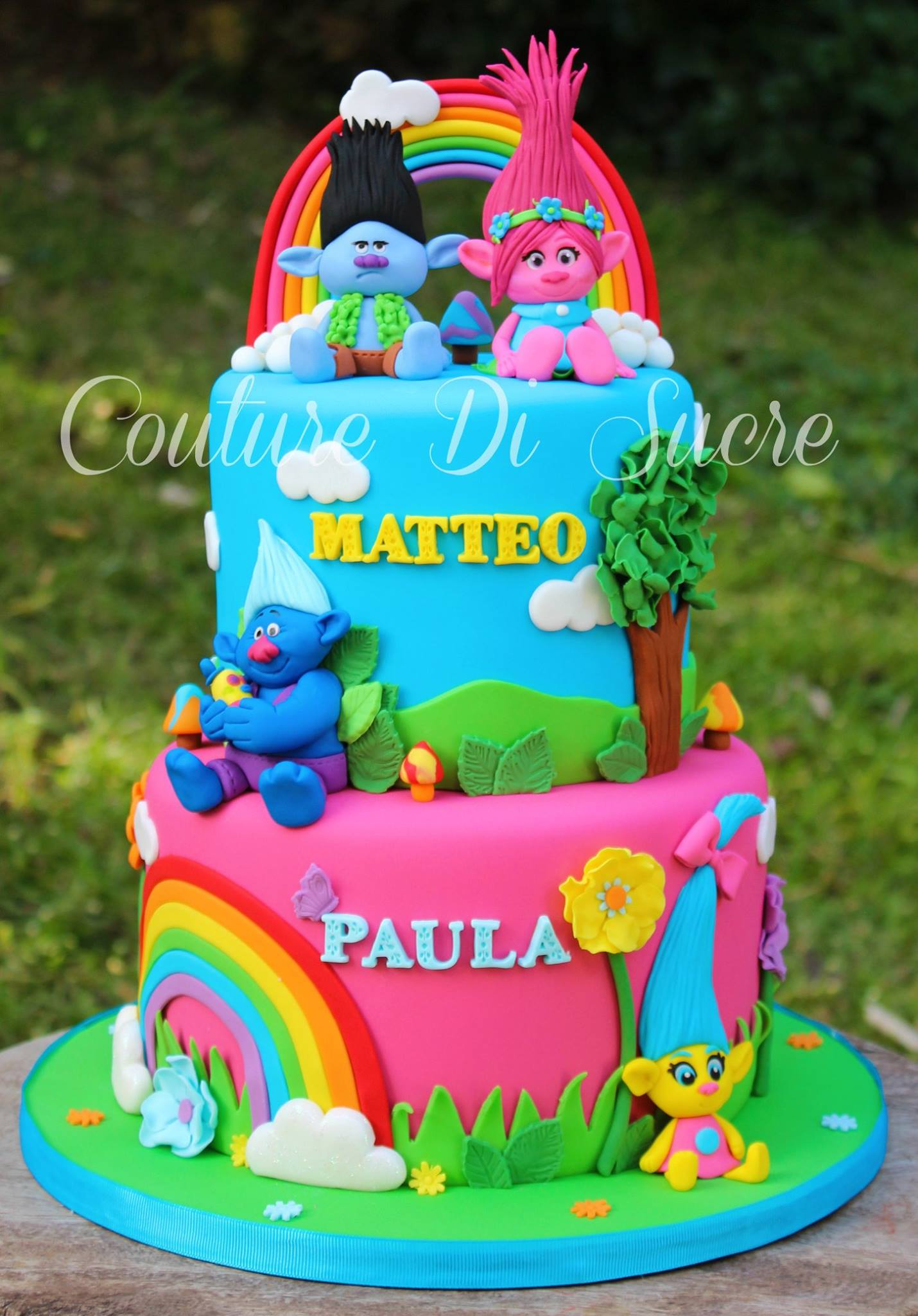 Here Are Some Great Trolls Cake Ideas To Inspire You They Beautiful Festive And Creative Click On Images For Source