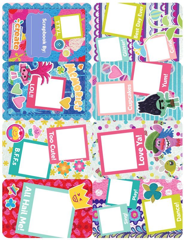 photo relating to Free Printable Trolls Invitations referred to as Trolls Get together